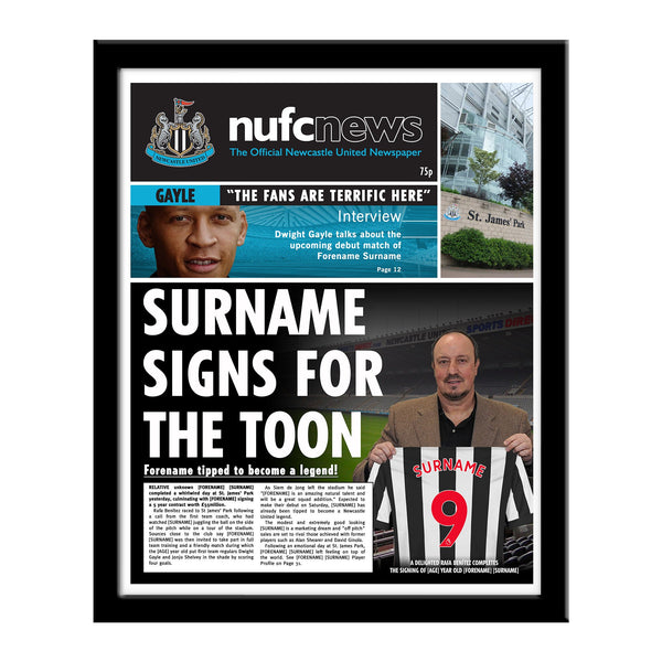 Newcastle United FC News