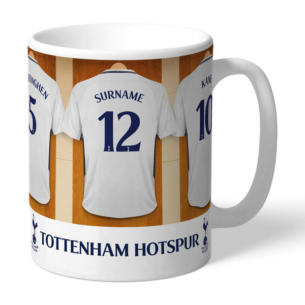 Tottenham Hotspur FC Dressing Room Mugs, Gifts