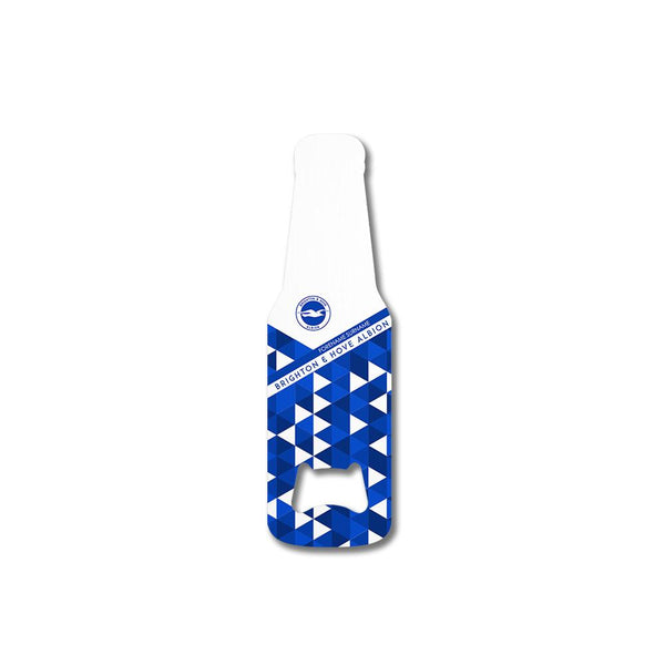 Brighton & Hove Albion Patterned Bottle Shaped Bottle Opener