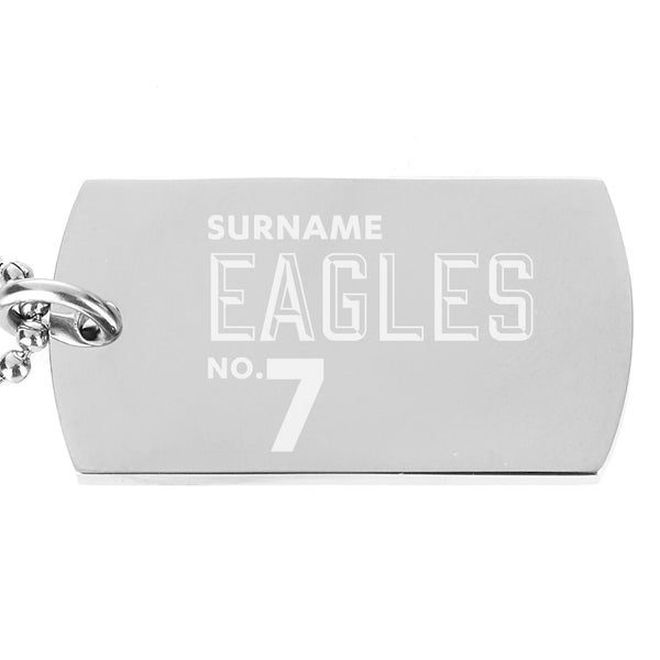Crystal Palace FC Number Dog Tag Pendant