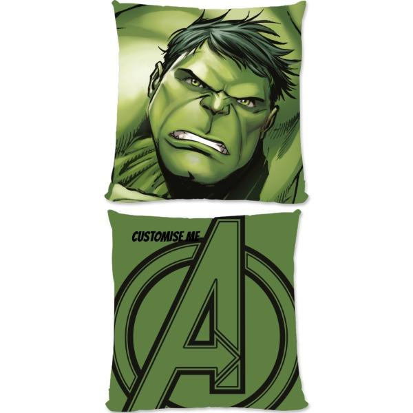 Marvel Avengers Assemble The Hulk Small Fiber Cushions, Gifts