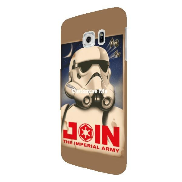 "Star Wars Rebels ""Join The Imperial Army"" Samsung Galaxy S7 Edge Clip Case"