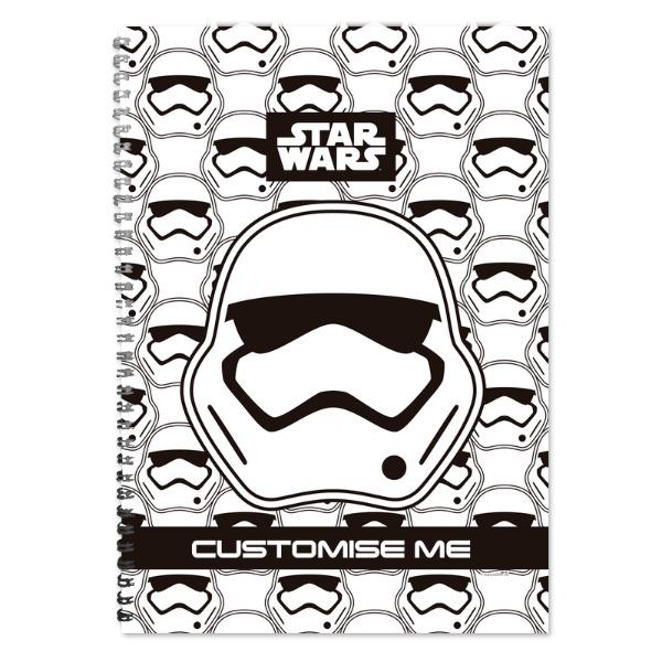 Star Wars Storm Trooper Icon A4 Notebook