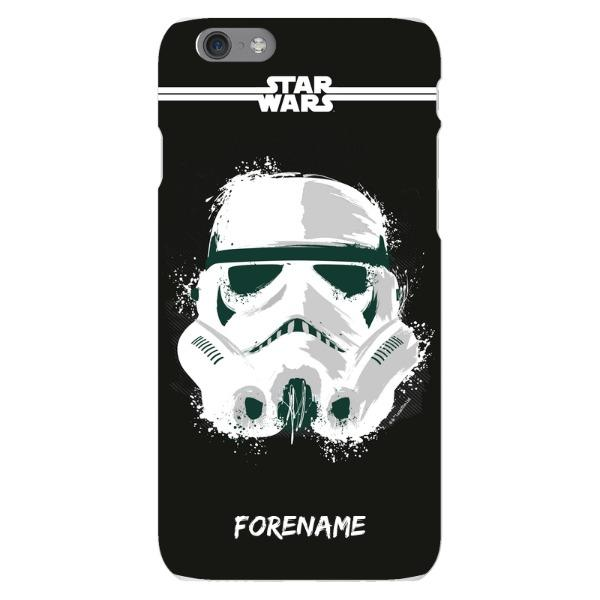 Storm Trooper Paint iPhone 6 6S Case