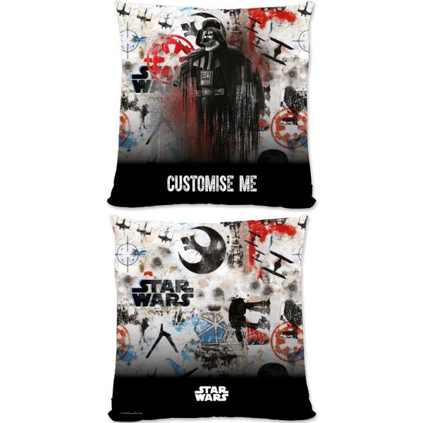 Star Wars Rogue One Darth Vader Large Fibre Cushions, Gifts