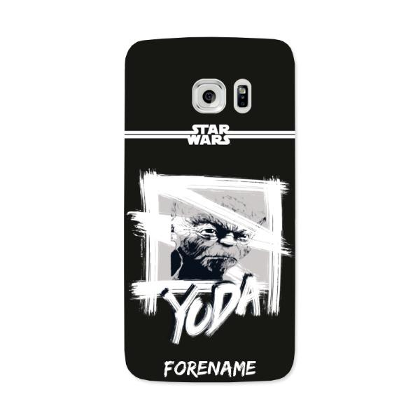 Star Wars Yoda Paint Samsung Galaxy 7 Edge