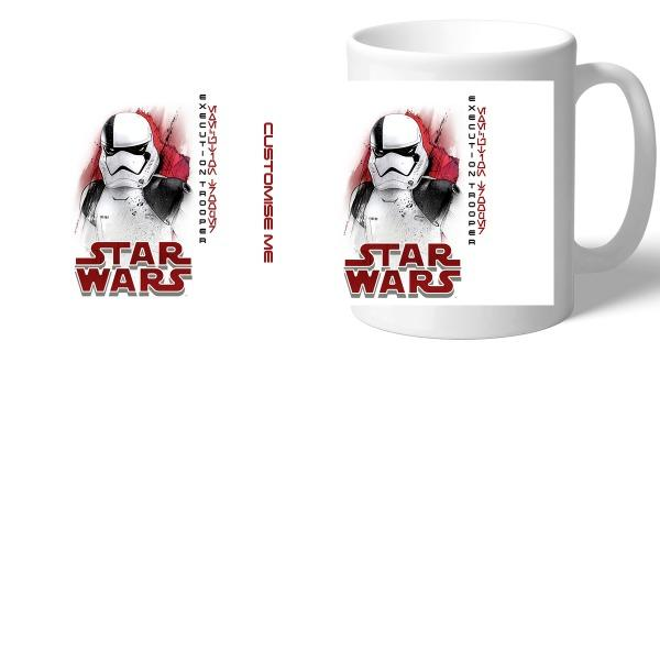 Star Wars Execution Trooper Last Jedi Spray Paint Mugs, Gifts
