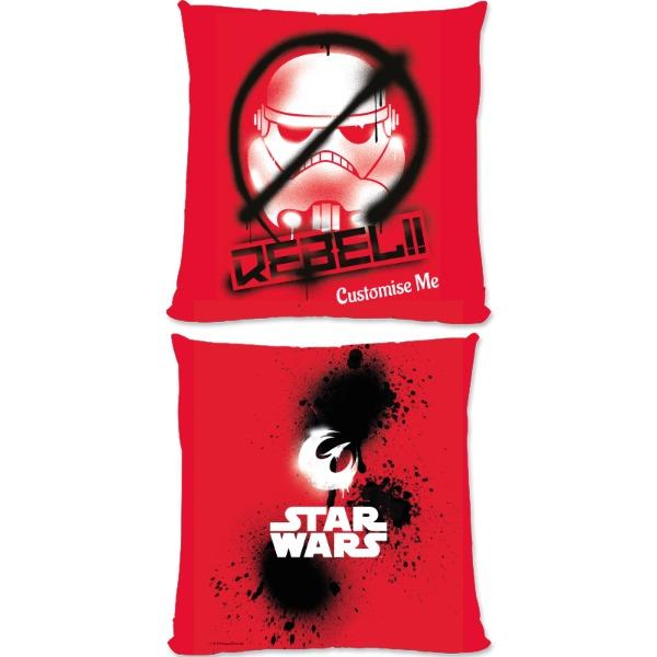 Star Wars Rebels Rebel Large Fibre Cushions, Gifts