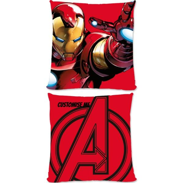 Marvel Avengers Assemble Iron Man Large Fiber Cushions, Gifts