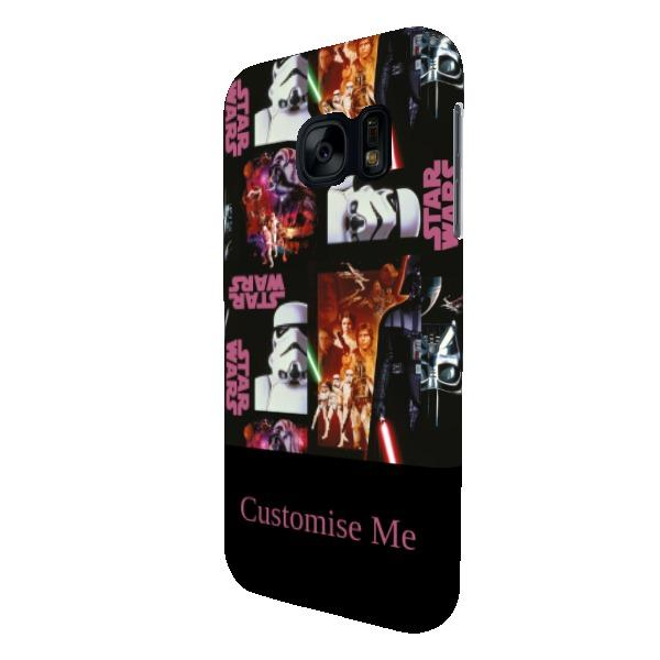 Star Wars Classic Poster Print Samsung Galaxy S7 Clip Case