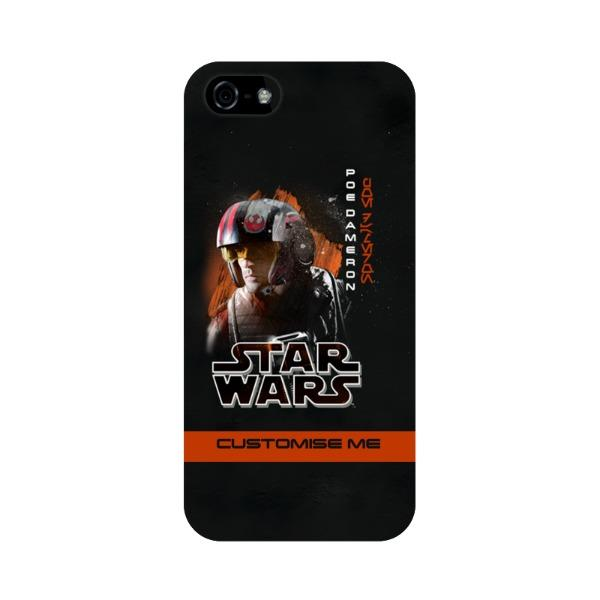 Star Wars Poe Dameron Last Jedi Spray Paint iPhone 5 S SE