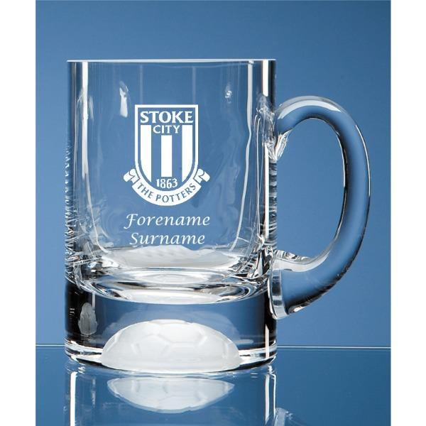 Stoke City FC Ball Base Tankard