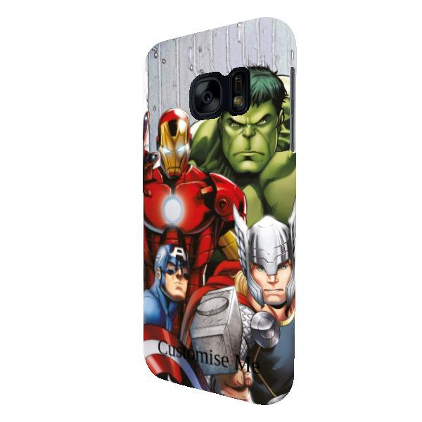 Marvel Avengers Assemble Group Scene Samsung Galaxy S7 Clip Case