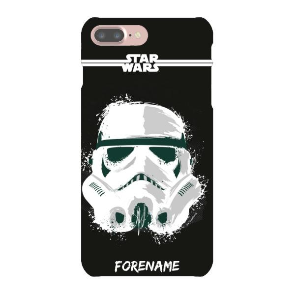 Storm Trooper Paint iPhone 7 Case