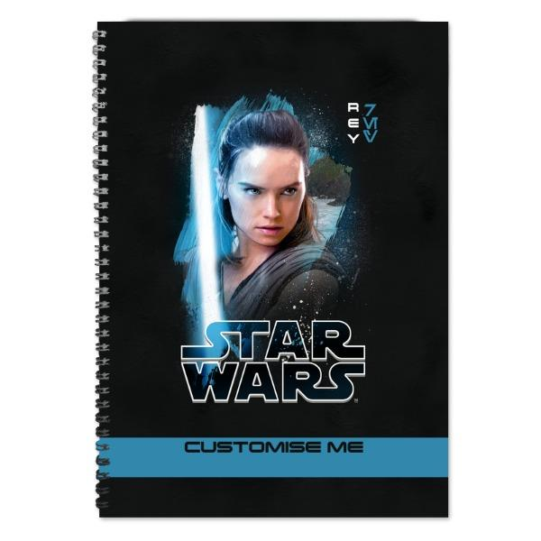 Star Wars Rey Last Jedi Spray Paint A4 Notebook