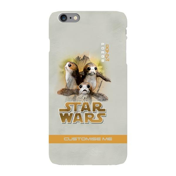 best authentic 130dd 456ac Star Wars Porg Last Jedi Spray Paint iPhone 6 Plus