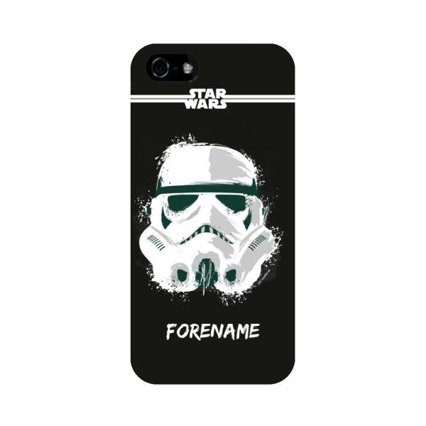 Storm Trooper Paint iPhone 5 S SE Case