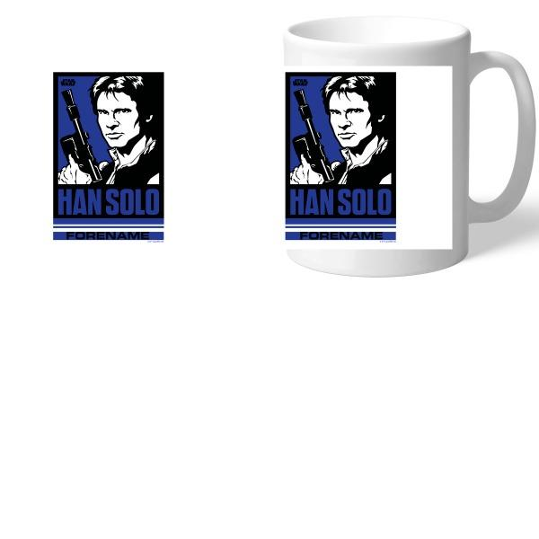 Star Wars Han Solo Pop Art Mugs, Gifts
