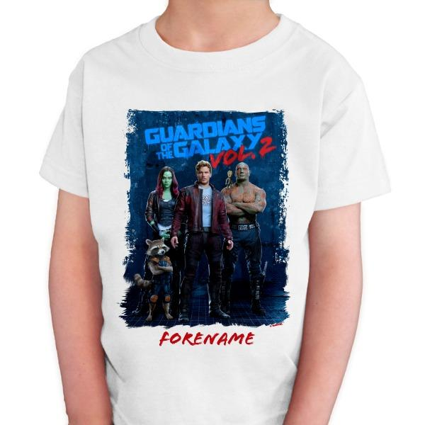 Marvel Guardians of the Galaxy Grunge Kids T-Shirt