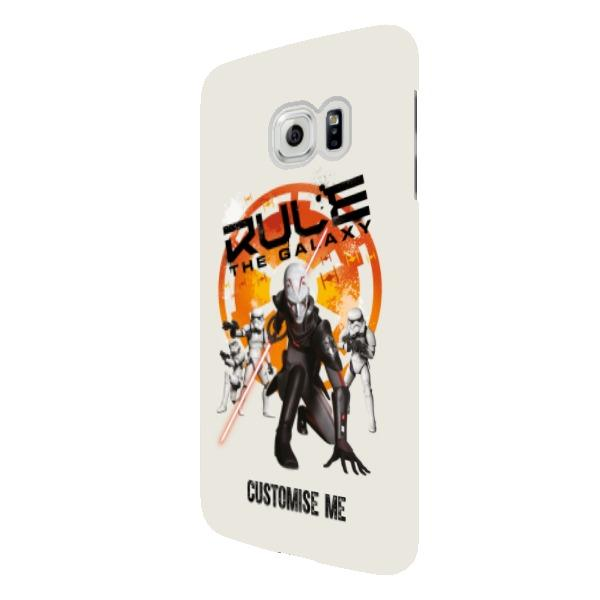 "Star Wars Rebels ""Rule The Galaxy"" Samsung Galaxy S6 Edge Clip Case"