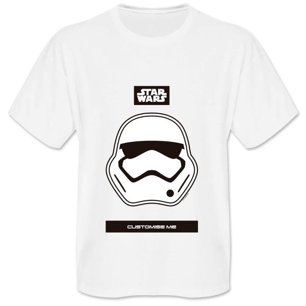 Star Wars Storm Trooper Icon Mens T-shirt