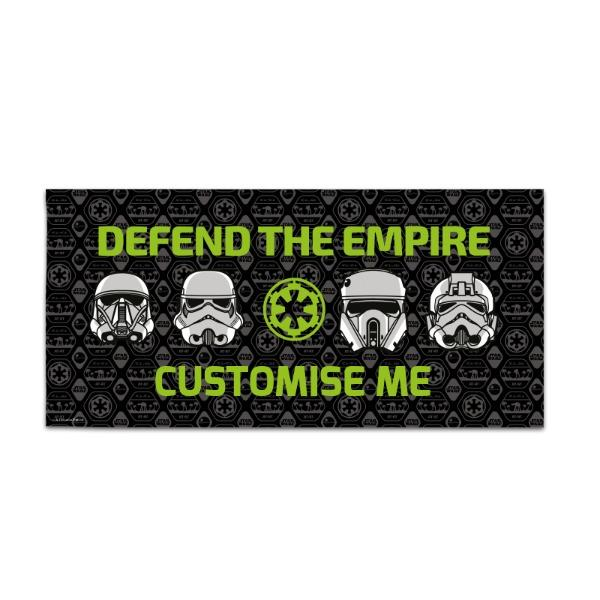 "Star Wars Rogue One ""Defend The Empire"" Large Towel"