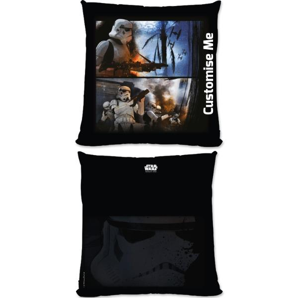 Star Wars Rogue One Stormtrooper Large Fibre Cushions, Gifts