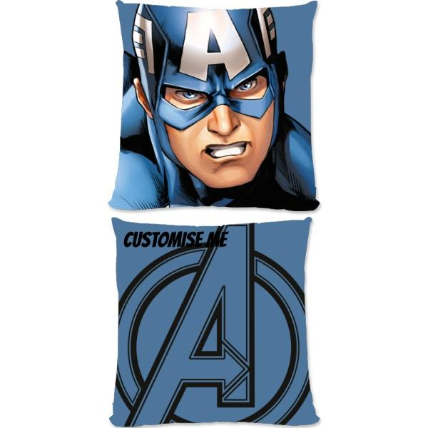 Marvel Avengers Assemble Captain America Small Fiber Cushions, Gifts