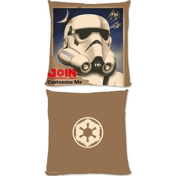 "Star Wars Rebels ""Join The Imperial Army"" Large Fibre Cushions, Gifts"