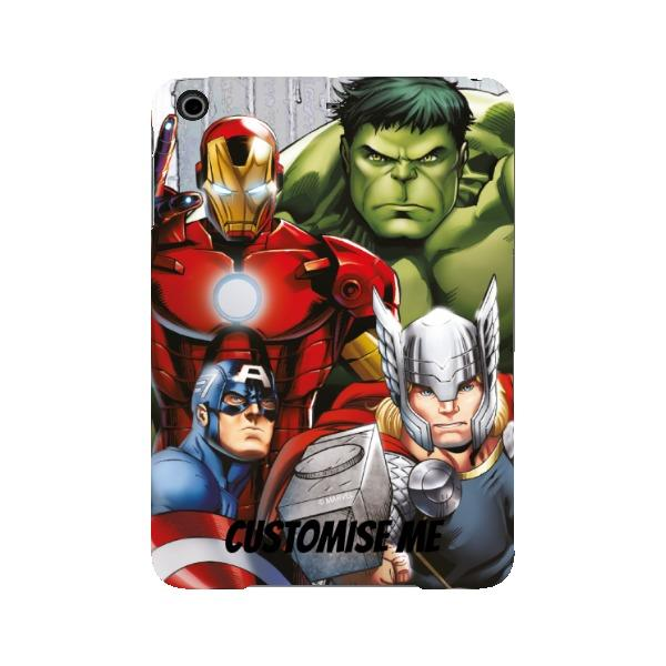 Marvel Avengers Assemble Group Scene iPad Mini 2 3 Clip Case