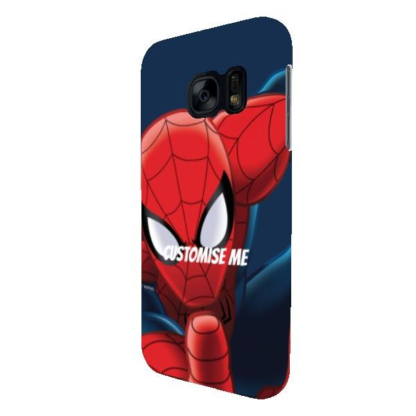 Marvel Ultimate Spider-Man Print Samsung Galaxy S7 Clip Case