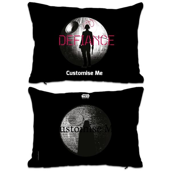 Star Wars Rogue One Defiance Extra Large Fibre Cushions, Gifts