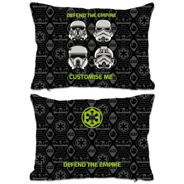 "Star Wars Rogue One ""Defend The Empire"" Extra Large Fibre Cushions, Gifts"