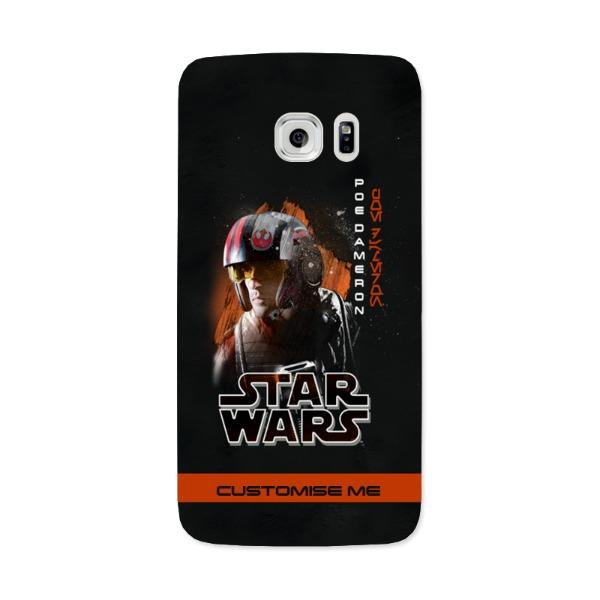 Star Wars Poe Dameron Last Jedi Spray Paint Samsung Galaxy 7 Edge