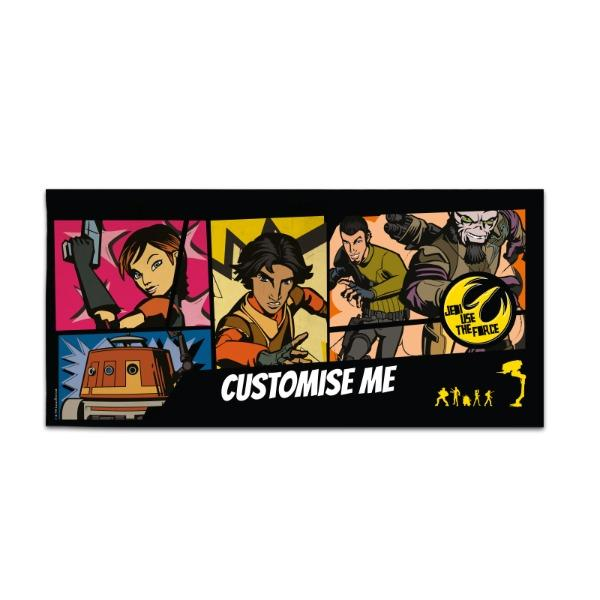 Star Wars Rebels Comic Print Large Towel