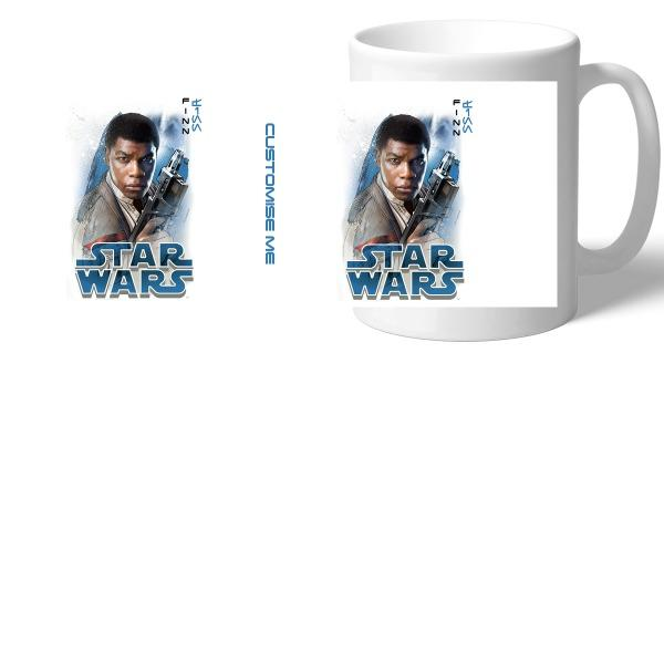 Star Wars Finn Last Jedi Spray Paint Mugs, Gifts