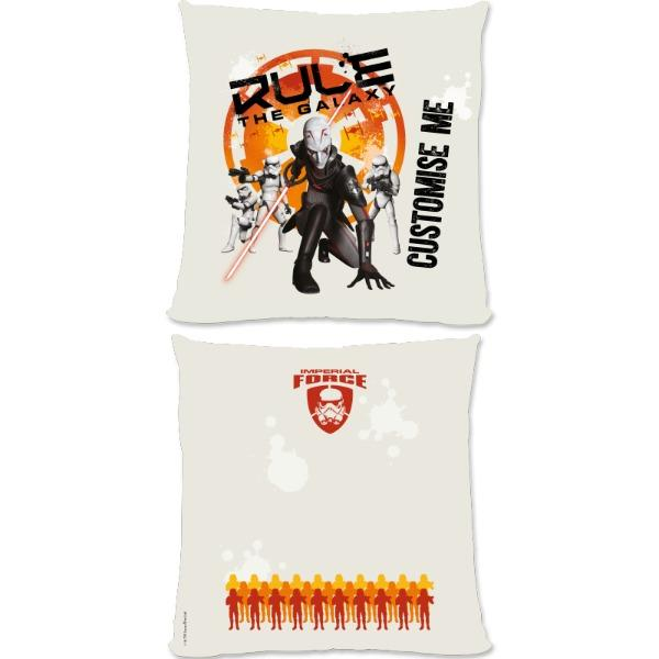 "Star Wars Rebels ""Rule The Galaxy"" Small Fibre Cushions, Gifts"