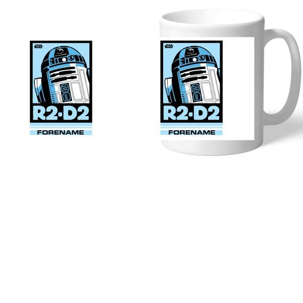 Star Wars R2 D2 Pop Art Mugs, Gifts