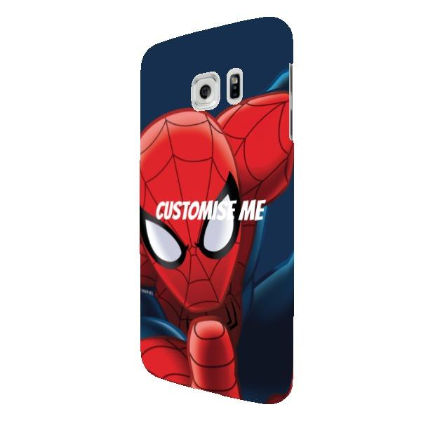Marvel Ultimate Spider-Man Print Samsung Galaxy S7 Edge Clip Case