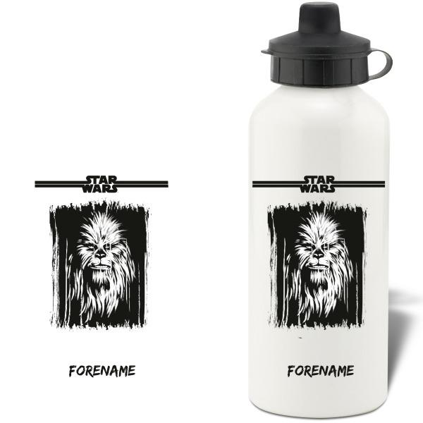 Star Wars Chewbacca Paint  Aluminium Water Bottle