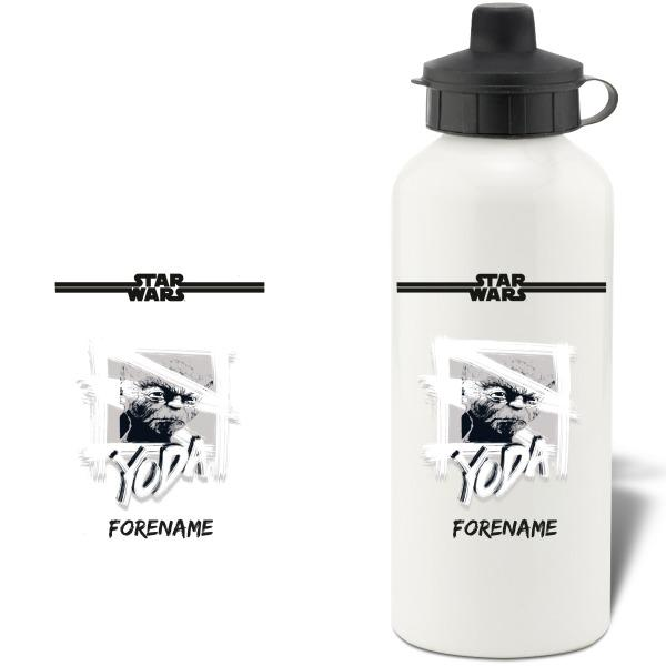 Star Wars Yoda Paint  Aluminium Water Bottle