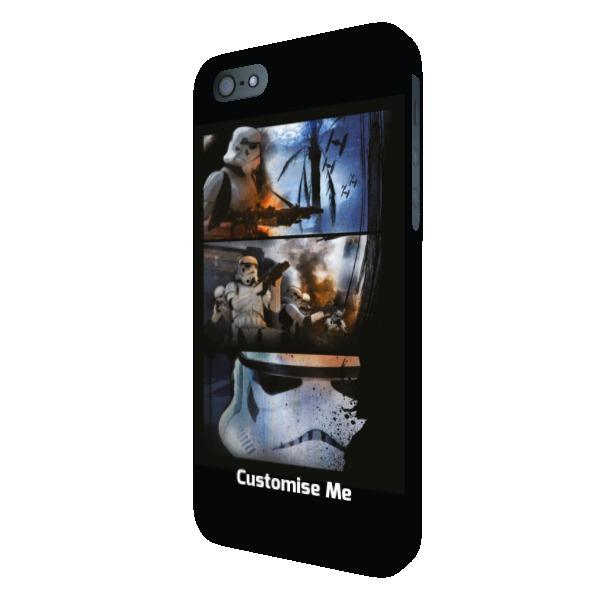 Star Wars Rogue One Stormtrooper iPhone 5 5s 5SE Clip Case