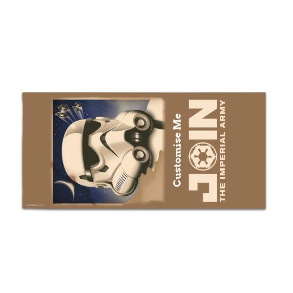 "Star Wars Rebels ""Join The Imperial Army"" Large Towel"