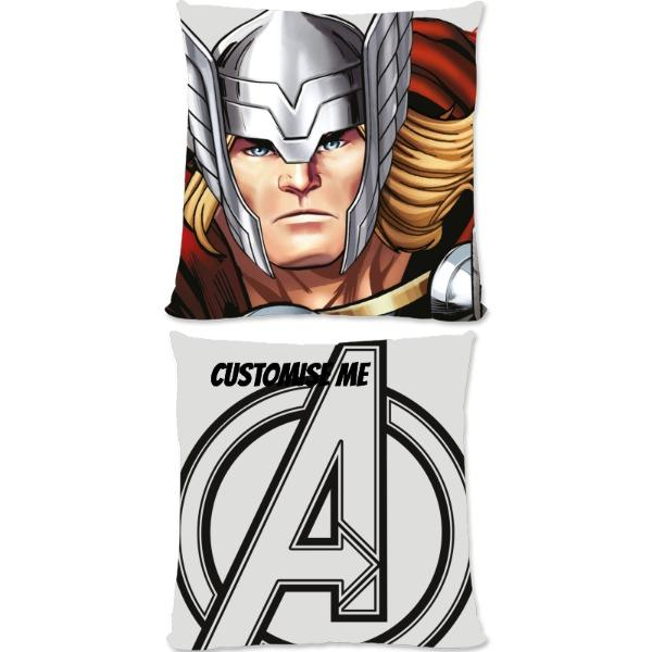 Marvel Avengers Assemble Thor Small Fiber Cushions, Gifts