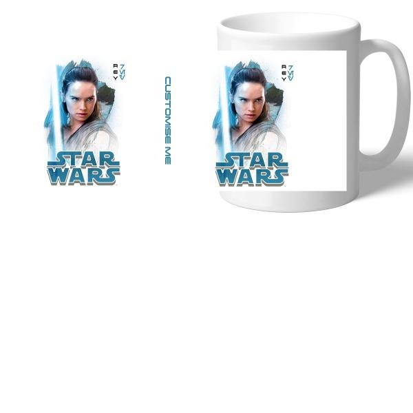 Star Wars Rey Last Jedi Spray Paint Mugs, Gifts