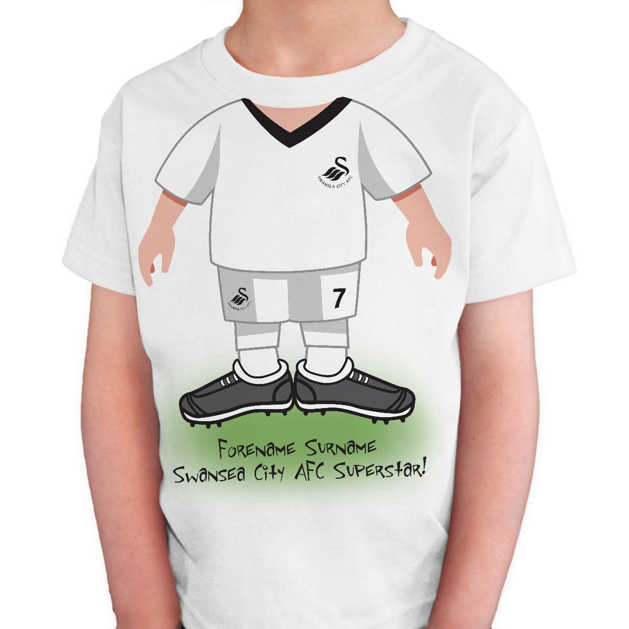 Swansea City AFC Kids Use Your Head T-Shirt