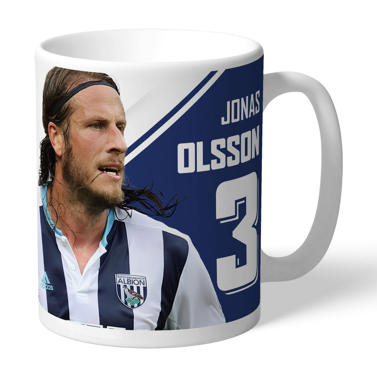 West Bromwich Albion FC Olsson Autograph Mugs, Gifts