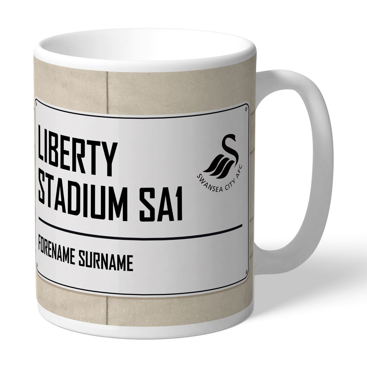 Swansea City AFC Street Sign Mugs, Gifts