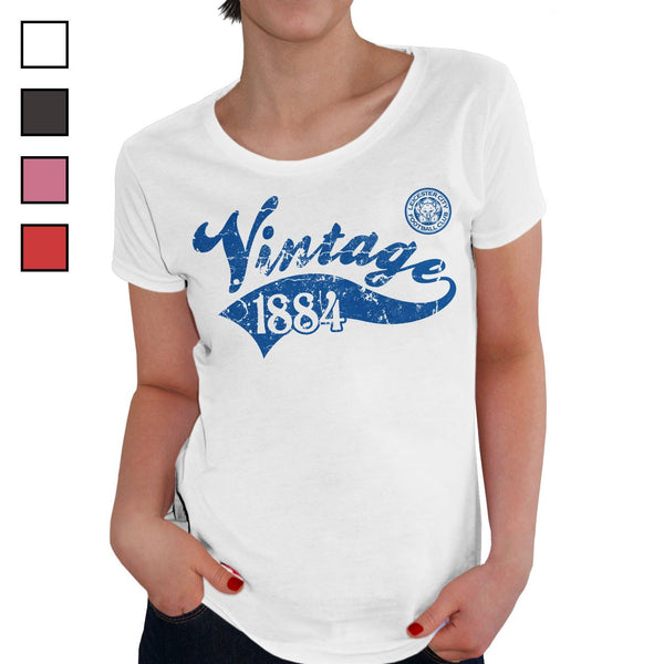 Leicester City FC Ladies Vintage T-Shirt