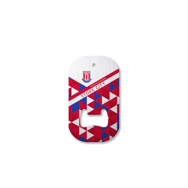 Stoke City FC Patterned Compact Bottle Opener